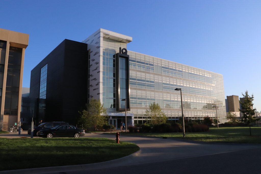 Photo of exterior of IQ building